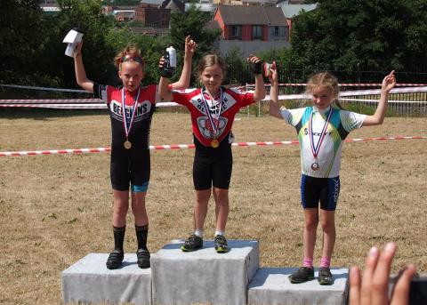Phoebe under 10 girls winner