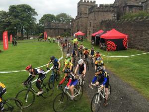 Cyclocross Race at Hoghton Tower