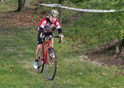 Red Rose Rider at the Horwich Humdinger cyclocross