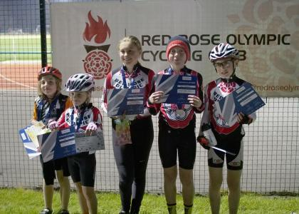Red Rose Riders at the last NWCC race